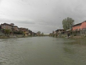 A View of River Jhelum in Srinagar