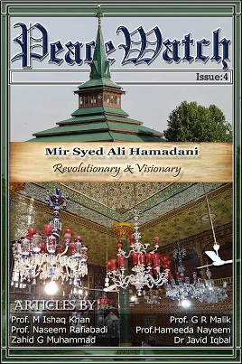 cover Mir Syed Ali Hamdani Revolutionay visonary 1